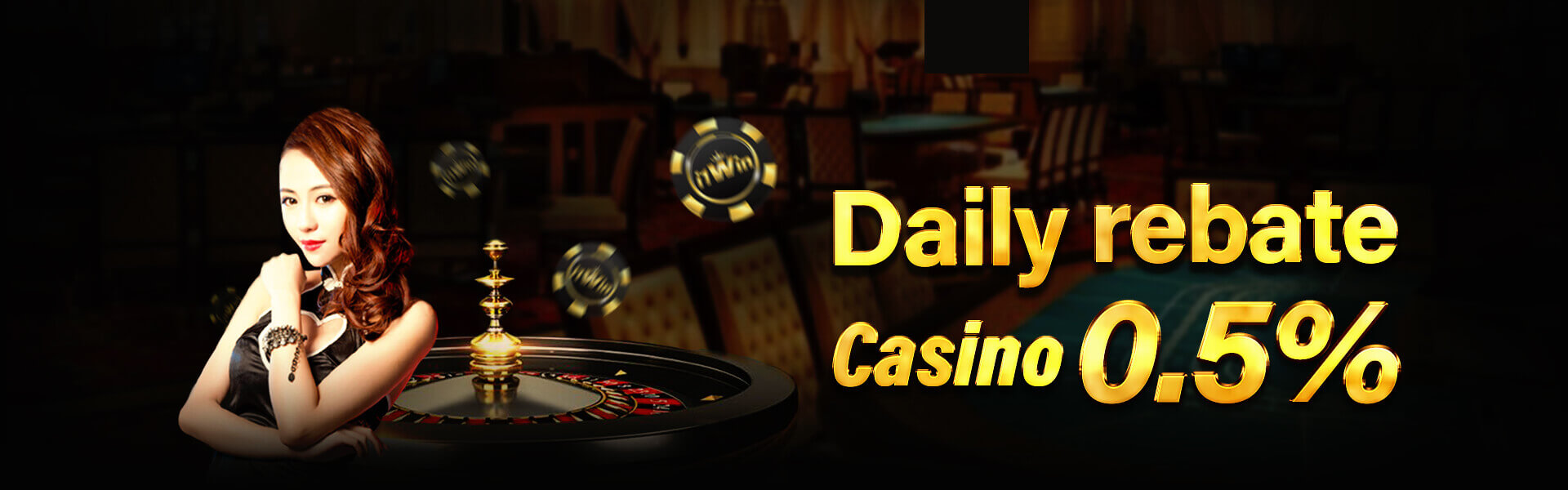 Daily rebate casino 0.5%